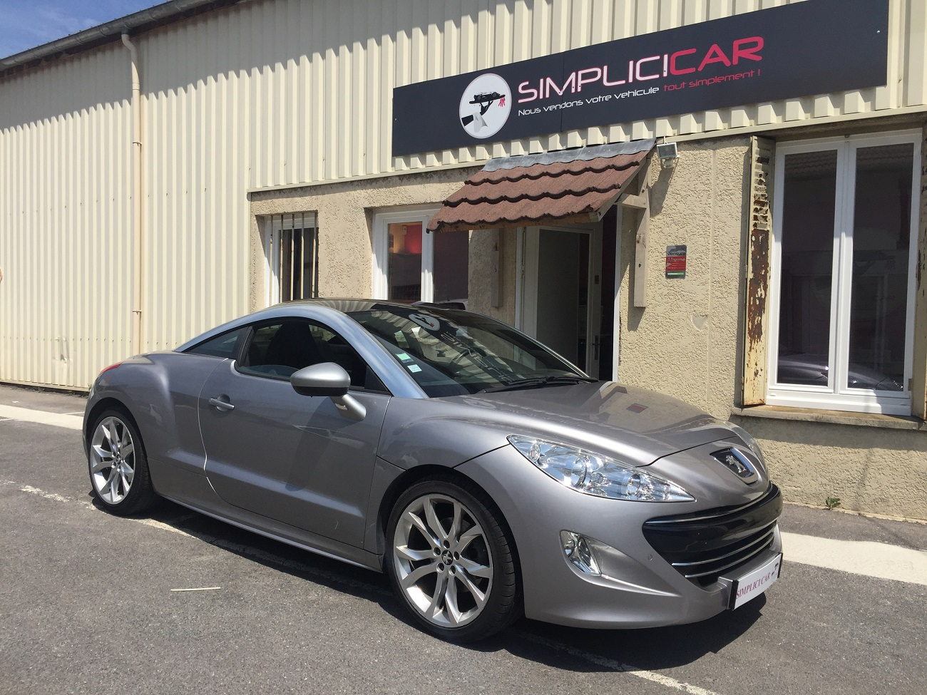 voiture peugeot rcz 1 6 thp 156ch occasion essence 2010 55800 km 13490 lagny sur. Black Bedroom Furniture Sets. Home Design Ideas
