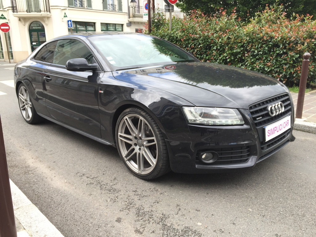 voiture audi a5 3 0 v6 tdi 240 dpf quattro s line s tronic occasion diesel 2011 102000 km. Black Bedroom Furniture Sets. Home Design Ideas