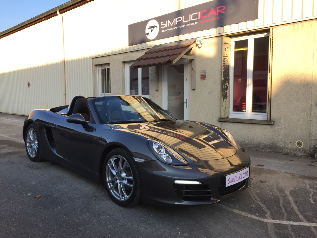 voiture porsche boxster 265 ch pdk occasion essence 2012 52000 km 46990 lagny. Black Bedroom Furniture Sets. Home Design Ideas