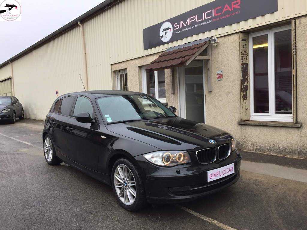 voiture bmw 118d 143 ch connected drive occasion diesel 2009 107000 km 10490 lagny. Black Bedroom Furniture Sets. Home Design Ideas