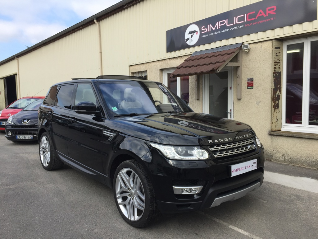 voiture land rover range rover sport mark i tdv6 3 0l hse dynamic a occasion diesel 2013. Black Bedroom Furniture Sets. Home Design Ideas