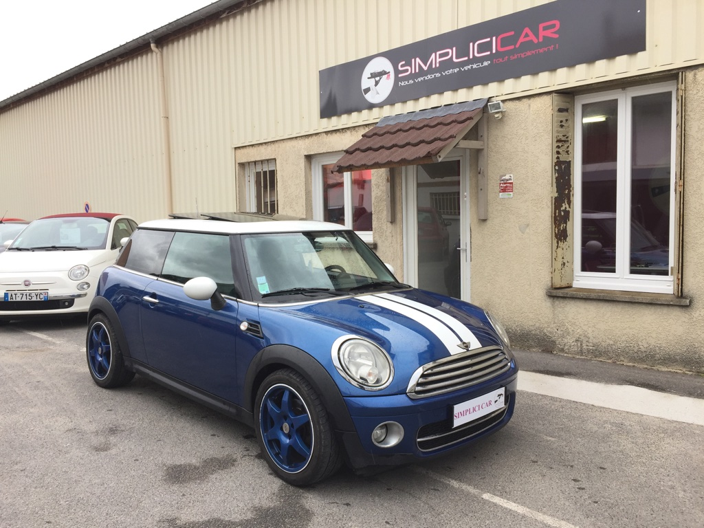 voiture mini mini 1 6 d 110 cooper occasion diesel 2008 76500 km 6990 lagny sur. Black Bedroom Furniture Sets. Home Design Ideas