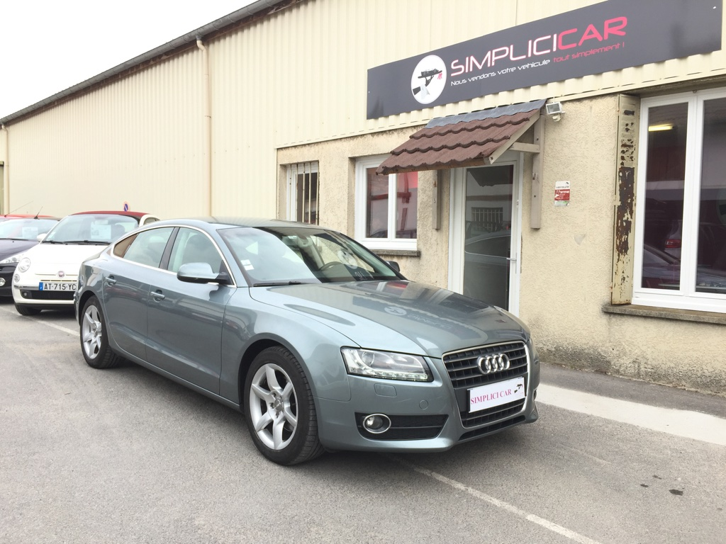 voiture audi a5 sportback 2 0 tdi 170 dpf ambiente occasion diesel 2009 86800 km 17490. Black Bedroom Furniture Sets. Home Design Ideas