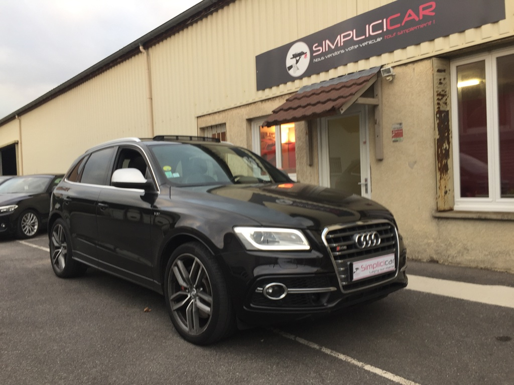 voiture audi sq5 v6 3 0 bitdi 313 quattro tiptronic 8 occasion diesel 2013 98000 km. Black Bedroom Furniture Sets. Home Design Ideas