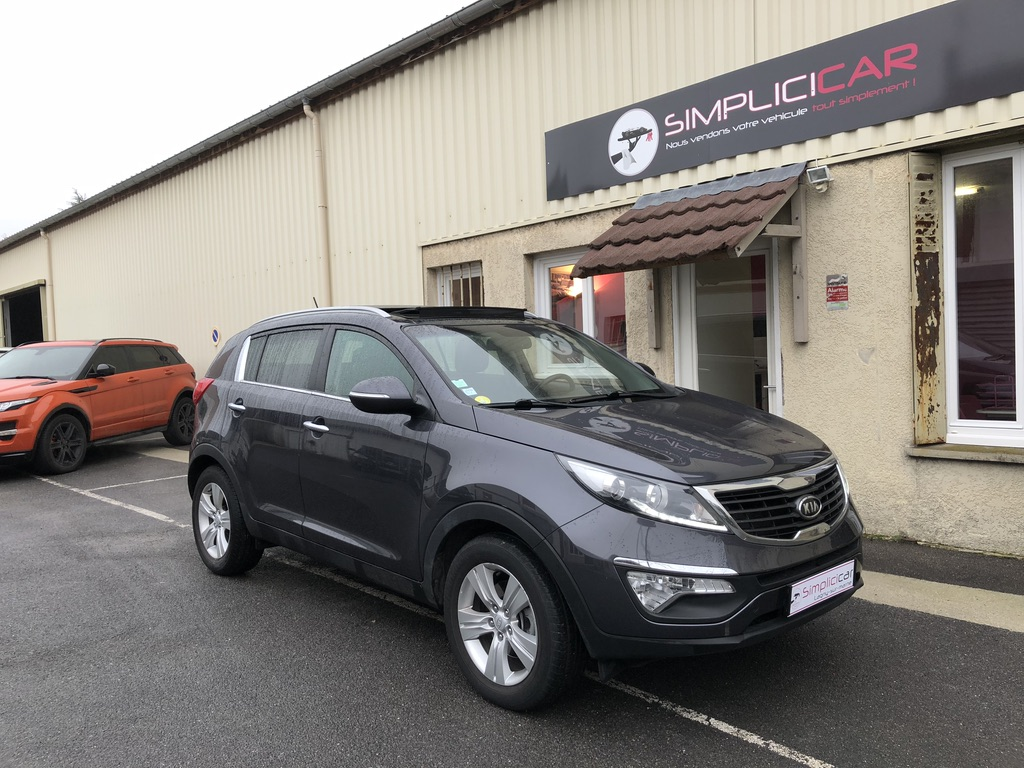 voiture kia sportage 1 7 crdi 115 isg 2wd active occasion diesel 2012 39000 km 14500. Black Bedroom Furniture Sets. Home Design Ideas
